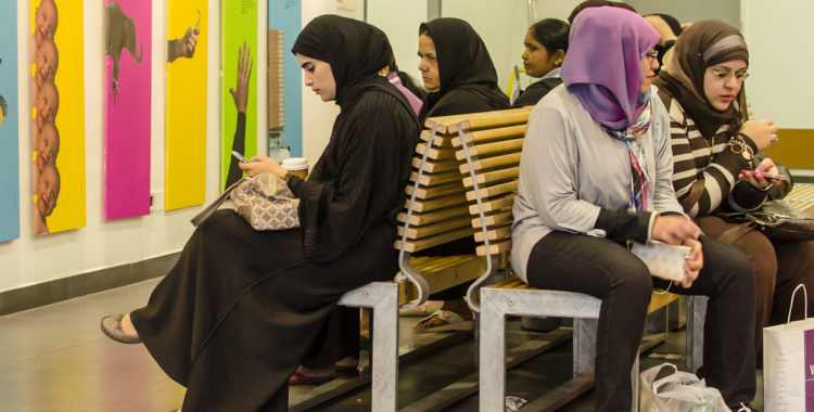 Backing in: Muslim women, social media edition